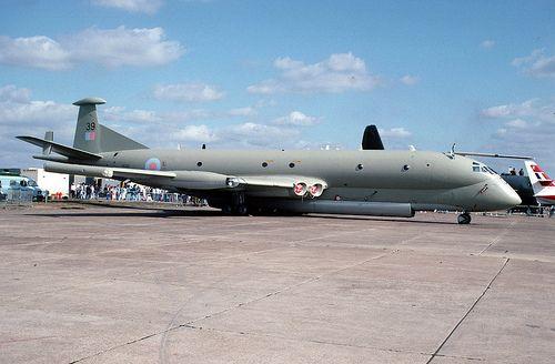 Nimrod: XV239 RAF Abingdon