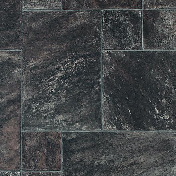 Linoleum Looks Like Stone Google Search: Grey Slate Tile Style Vinyl Random
