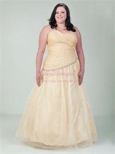 Plus size prom dresses Plus size prom and Custard on Pinterest
