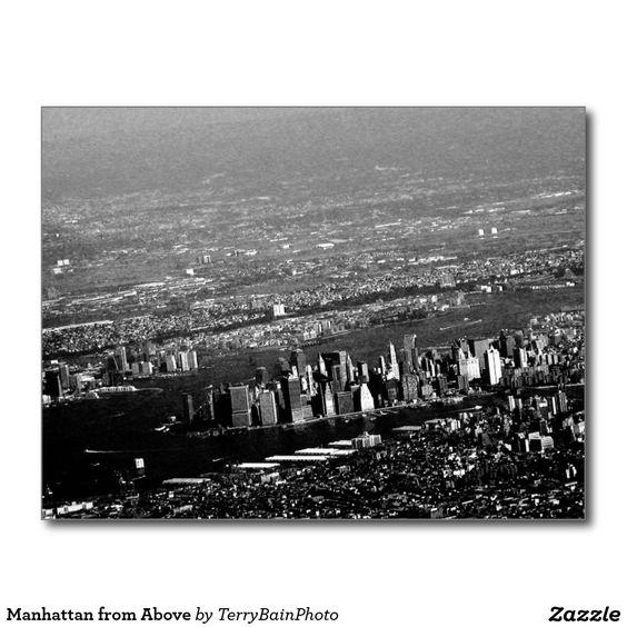 Manhattan from Above Postcard