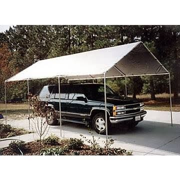 King Canopy Silver Replacement Tarp - for 10' x 20' Canopies T10203
