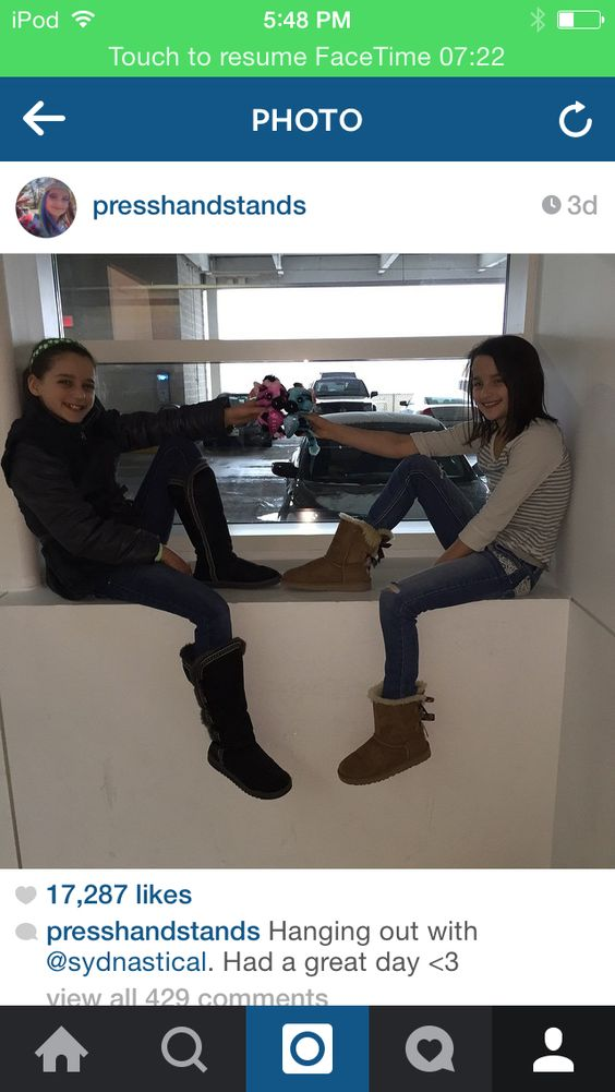 Annie Posted This On Instagram Annie And Sidney ™�bff