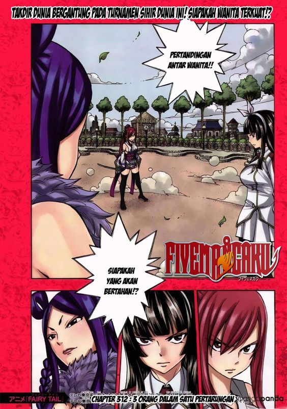 Fairy TaiL Indonesia : Chapter 312 : Page 0 | Baca Komik Online