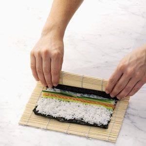 Learn to make SUSHI.