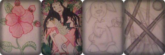 Dibujos que hacia en mi tiempo libre... :D