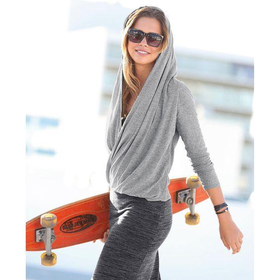 Tee shirt femme à capuche - 3Suisses