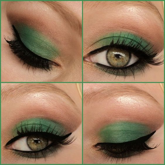 makeup green eyes maquillage vert yeux soir e journ e night day maquillage yeux. Black Bedroom Furniture Sets. Home Design Ideas
