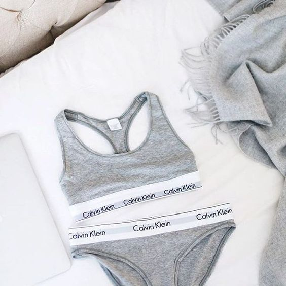 Back to the basics in Calvin Klein. // Follow @ShopStyle on Instagram to shop this look