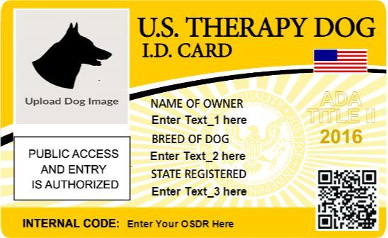 Service Dog Registry Document Center | OSDR Document Center