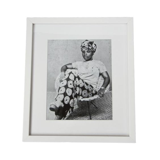 Vintage Cameroon Picture (relaxed lady) by African Made art from Australian on line store Safari Fusion