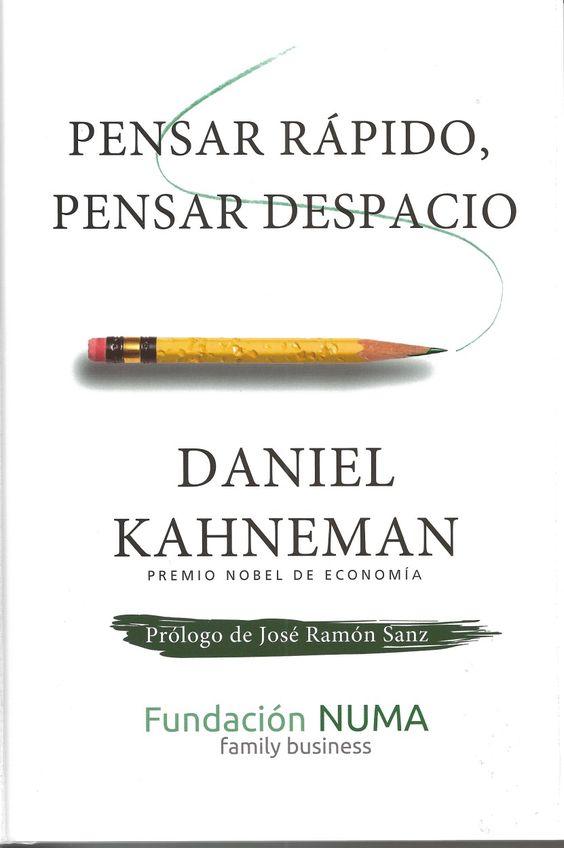 Daniel Kahneman, PDF, Pensar rápido, pensar despacio