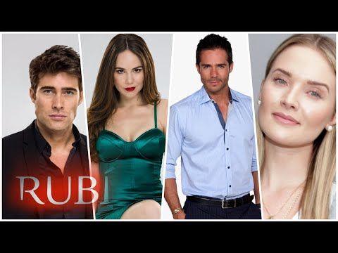 Edades Reales De Los Actores De Rubí La Serie Youtube Rubio Actores Rubí Telenovela