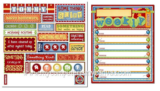 Totally Adorable Subway Art!! RESPONSIBILITY Chart... helps manage chores, behavior, time and allowance!