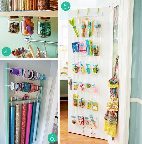 Ideas para ordenar tu material de manualidades | el taller de las cosas bonitas