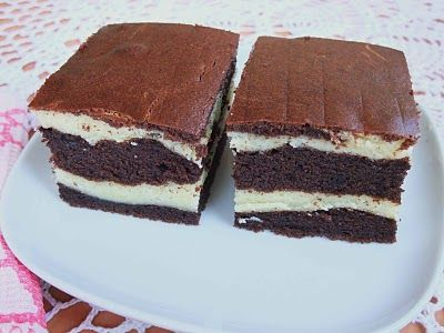 Veronica's Kitchen: Cheese and chocolate butter marble cake