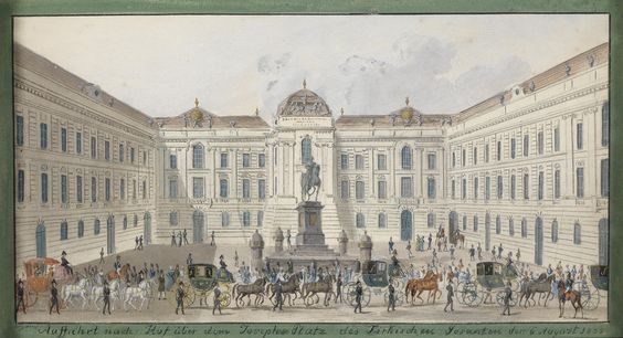 Balthasar_Wigand_Josephsplatz_1835.jpg (4348×2360)Austrian National Library