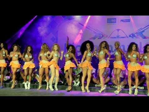 RAINHA DO CARNAVAL 2016 Semifinal: Rio Queen of Samba Dance Contest - YouTube