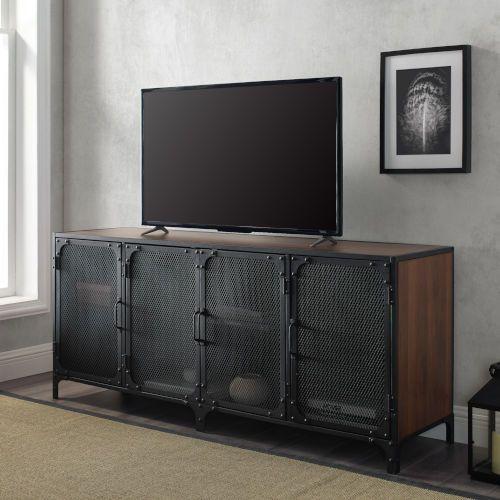 Walker Edison Furniture Co W60soi4ddw 16 In Tv Stand In Dark