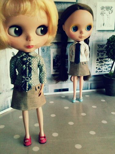 Pippin and Lola | In Rive gauche dresses | Hilary | Flickr