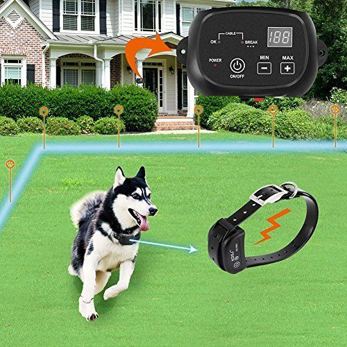 Covono Invisible Fence Dogs Underground Electric Dog Fence 650 Ft Wire 1 Dog In Ground Pet Containment Sy Wireless Dog Fence Pet Containment Systems Dog Fence