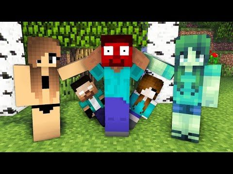 Monster School Herobrine Life Minecraft Animation Youtube Monster School Animation Monster