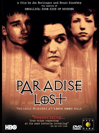 Paradise Lost, from HBO.  Documentary worth watching about the West Memphis Three