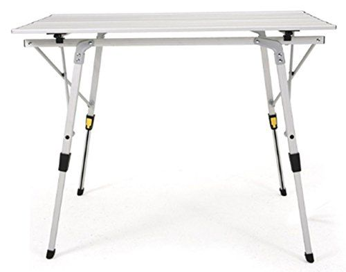 Mpania Classic Easy Portable Roll High Low Folding Camping Table Indoor Outdoor Lift Table Foot Camping Equipmen With Images Camping Table Folding Camping Table Lift Table
