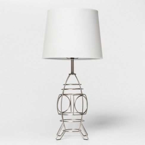 Space Ship Wire Table Lamp Silver Pillowfort Table Lamp Wire Table Energy Efficient Light Bulbs