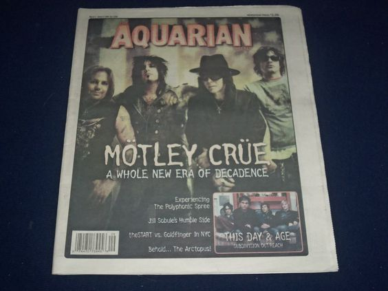 motley crue essay The very diversity of the book, however, is a limitation, for no concluding chapter  pulls the motley collection of essays together to provide a definitive argument or.