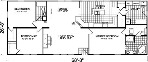 View Manufactured And Modular Home Floor Plans Available Through Retailers Dealers Near Johnson City TN