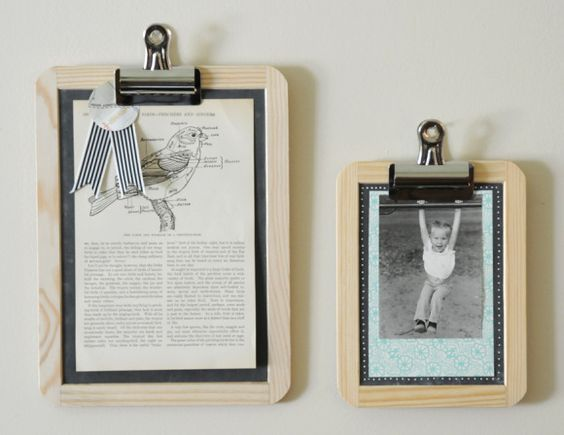 5 Minute DIY: ChalkboardFrames - Home - Creature Comforts - daily inspiration, style, diy projects + freebies