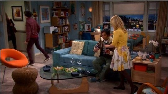 The Big Bang Theory Bernadette S Living Room Apartment