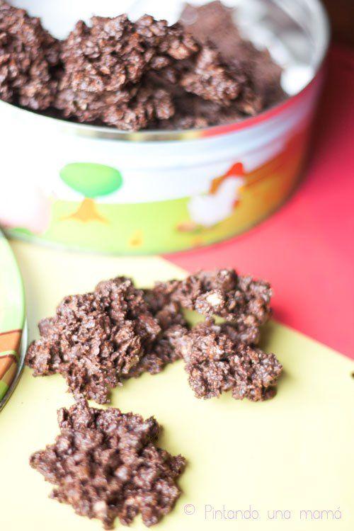 Impresionantes Galletas de Barquillo con Chocolate, Timanfayas
