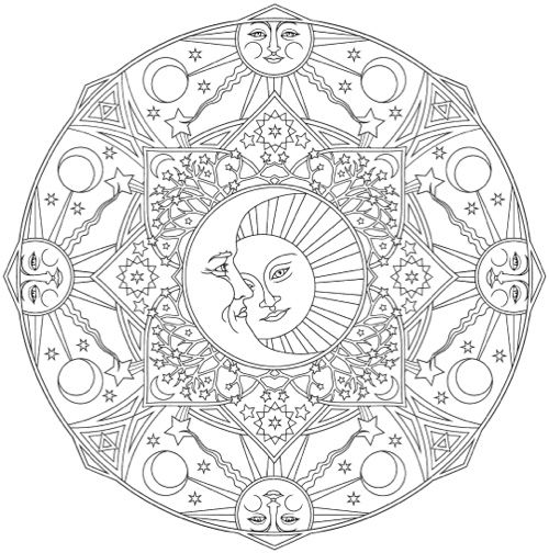 - The Best Mandala Coloring Books For Adults In 2020 Mandala Coloring Books,  Mandala Coloring Pages, Mandala Coloring