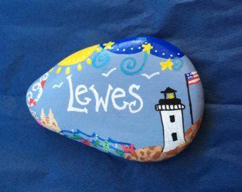 painted rocks : Hecho a mano – Etsy ES