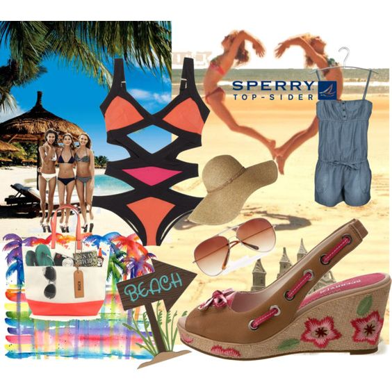 The best summer by the sea, created by chyna23 on Polyvore