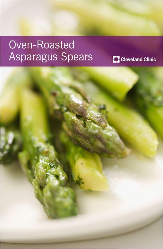 Asparagus, Oven roasted asparagus and Healthy on Pinterest