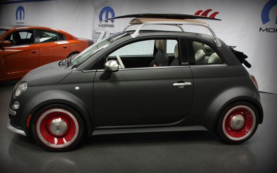 fiat 500 beach-cruiser by mopar  http://extreme-modified.com/page9.php