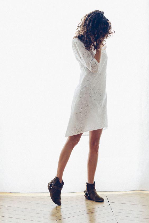Le dernier patron robe de la boutique.Facile à vivre et à coudre, même les débutantes pourront facilement la réaliser. Vanessa Pouzet