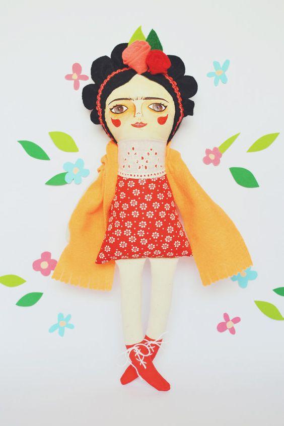 Feliz cumpleaños Frida!! by MandarinasDeTela