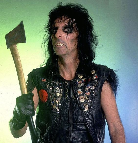 Pin By Martine Dutot On Gifs Alice Cooper Alice Cooper