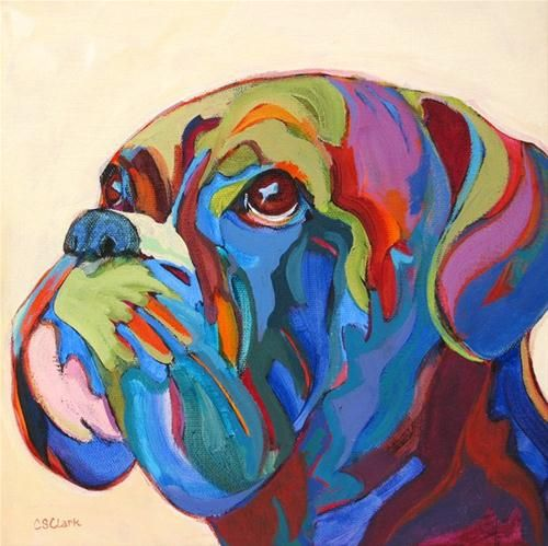 """Eyes to the Sky"" - Original Fine Art for Sale - © Carolee Clark"