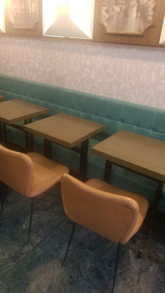 French Vintage Bistro Furniture Timeless... #bistro #bar #brasserie #vintage #oldstyle #cafeducoin #cafe #interiors #furniture #decor #interiordesign #bardesign #restaurantdesign