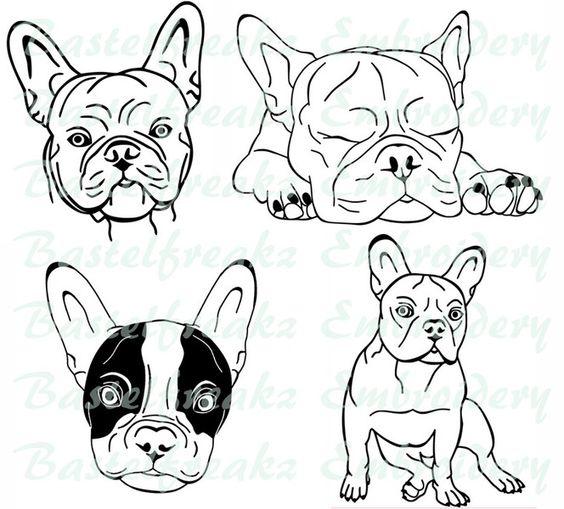 ♥+Stickdatei+♥+Bully+♥+13x18cm+♥+von+Bastelfreakz+Embroidery+auf+DaWanda.com