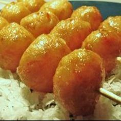 Cascaron (Filipino donut) found at many parties/luau's throughout Hawaii. Taste sooo good!!!
