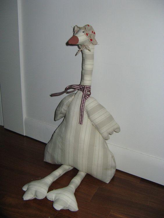 ...a pet duck...