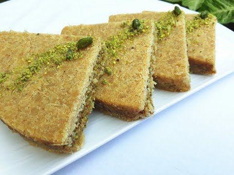 Pin On Lebanese Desserts
