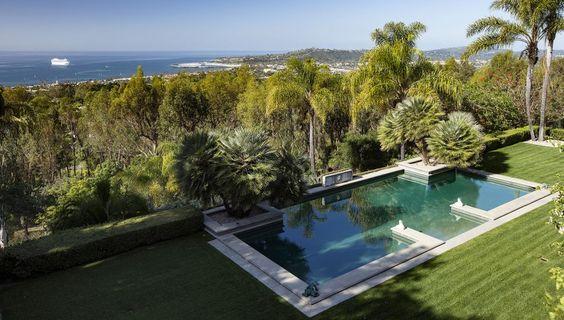 Villa Solana in Montecito California
