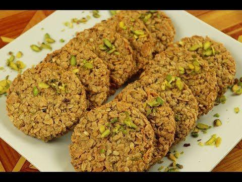 طريقة عمل جرانولا الشوفان بالعسل واللوز مع رباح محمد الحلقة 635 Youtube Food Yummy Food Bread