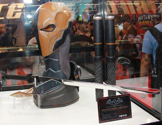 Arkham Origins Deathstroke Arsenal Package